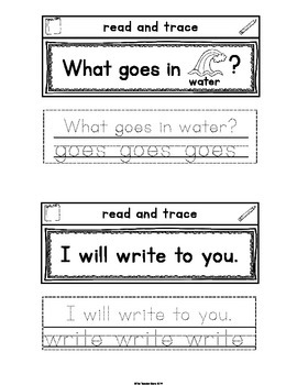 Sight Words Interactive Notebook Second Grade Set 6 (first, does, goes, write)