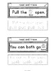 Sight Words Interactive Notebook Second Grade Set 9 (pull, both, sit, which)