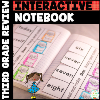 Sight Words Interactive Notebook Review: Third Grade List