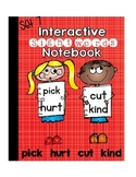 Sight Word  Interactive Notebook Third Grade List Set 7 (pick, hurt, cut, kind)