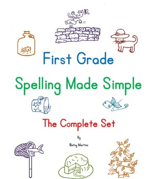 Spelling Program for 1st Grade - Spelling Made Simple Complete Set