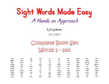 Sight Words Made Easy Complete Set