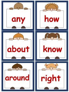 Sight Words, No-Prep Comprehensive Activities, Set 9