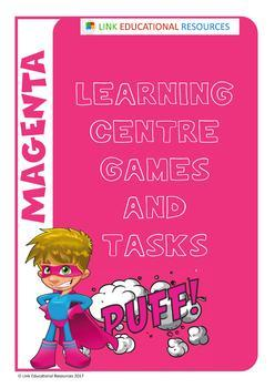Sight Words: Magenta Learning Centre Pack
