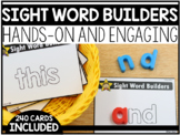 Sight Words Magnetic Builder Cards