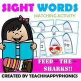 Sight Words Matching Activity Level 1