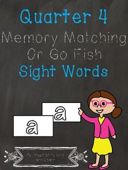 Sight Words - Quarter 4
