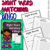 Sight Words Matching and Bingo- 208 Words!