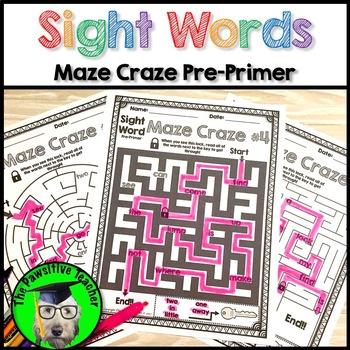 Sight Word Practice Pre-Primer
