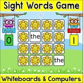 Sight Words Memory Digital Game for Smartboards & Computers - Spring Activities