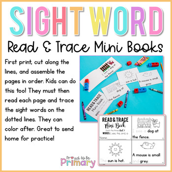 Dolch Sight Words - Mini Books