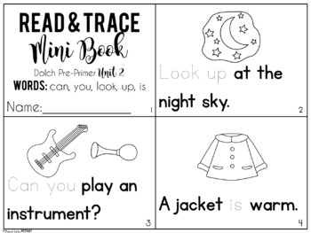 Dolch Sight Words - Mini Story Books