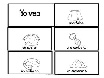 Sight Words Mini Books in Spanish/ Mini libritos Enunciados de uso frecuente