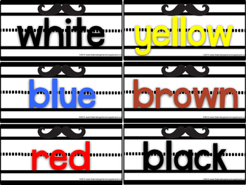 Neon Sentence Strip Sight Words