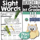 Sight Words First Grade