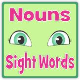 Sight Words Nouns