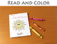 Sight Words Nouns Mini Books - Color Find Write and Sign (ASL)