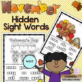 Sight Words {November Edition}
