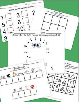 Sight Words, Numbers, and Science:  Fall Into a Good Kindergarten Year