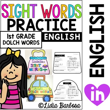 Sight Words On-the-Go 2.0  *Purse and Carrying Case for First Grade