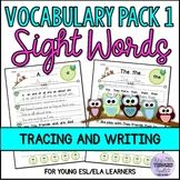 Sight Words Oxford Word List 1-100 Vocabulary, Tracing and Writing Activities