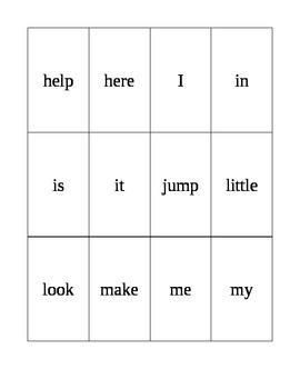 Sight Words-Parent Packet