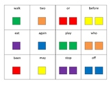 Sight Words Part 2 Candyland Cards