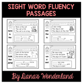 Kindergarten Sight Word Fluency Passages