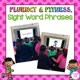 Sight Word Phrases Fluency & Fitness Brain Breaks Bundle