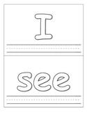 Sight Words Play Dough Cards