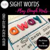 Sight Words Play Dough Mats : BUNDLE (Pre-Primer to First Grade)