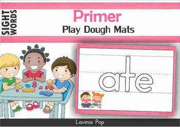 Sight Words Play Dough Mats (Primer)