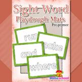 Pre-primer Sight Words Playdough Mats