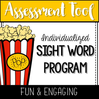 Sight Words: Popcorn Phrase and Assessment Kit Bundle