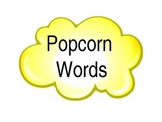 Sight Words PowerPoint in popcorn