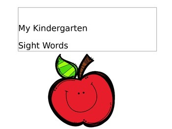 Sight Words Powerpoint Presentation