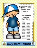 Sight Words Pracitce