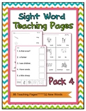 Sight Words Practice 32 Common Words  Includes 86 Workshee