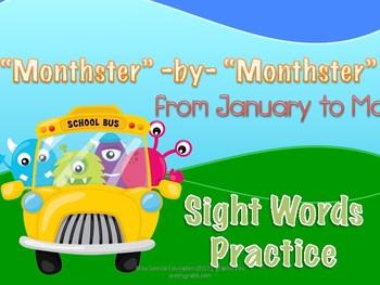 Sight Words Practice - 6 months Marathon