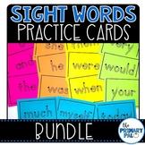 Sight Words Practice Cards Bundle