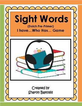 Sight Words Practice Game