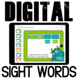 No Print Resource Sight Word Sentences Kindergarten Google Classroom Reading