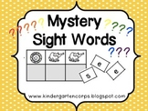 Sight Words Practice - Mystery Words and Beginning Sounds