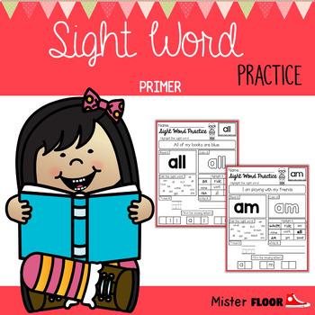 Sight Word Practice (Primer)