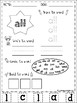 Sight Words Practice (Primer)
