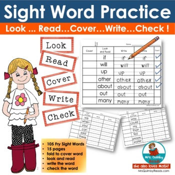 Sight Words [Practice] Read and Write