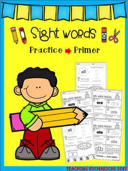 Sight Words Practice The BUNDLE