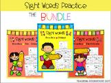 Sight Words Practice The BUNDLE Coronavirus Packet Distanc