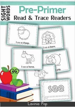 Sight Words Fluency Readers Pre-Primer BUNDLE