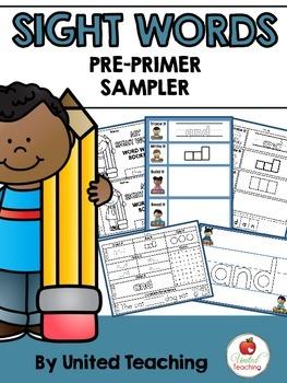 Sight Words Pre-Primer Sampler